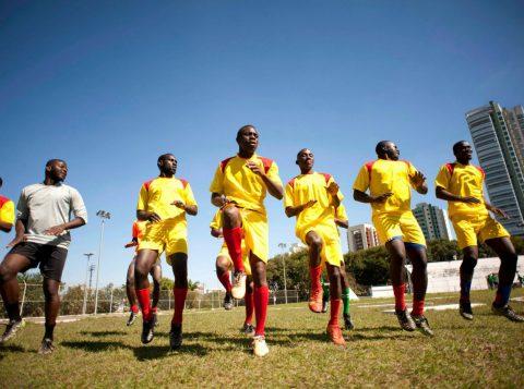 Copa dos Refugiados (Foto: ONG Africa do Coração/Divulgação)