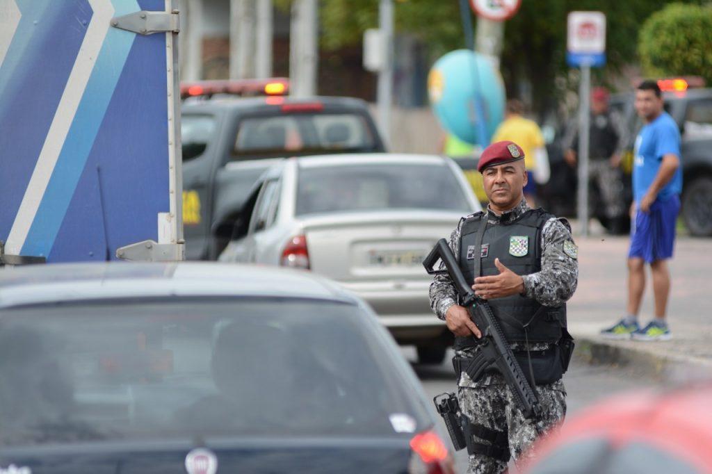 Reforço de 102 policiais já atua no enfrentamento do crime nas ruas de Porto Alegre. (Foto: Rodrigo Ziebell/SSP)