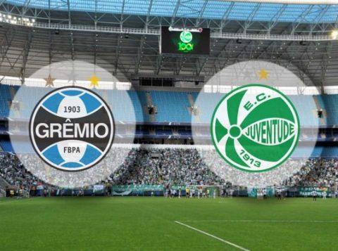Grêmio e Juventude duelam na Arena, em Porto Alegre. (Foto: Reprodução)