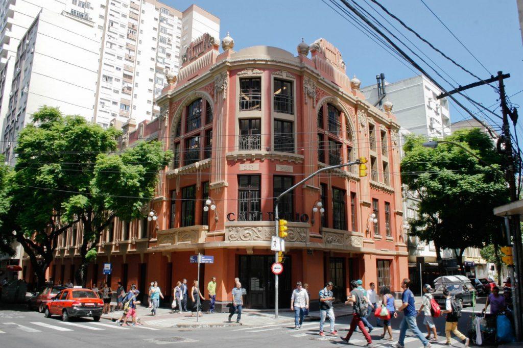 Cinemateca Capitólio recebe novo projetor digital durante as comemorações dos 245 anos de Porto Alegre (Foto: Betina Carcuchinski/PMPA)
