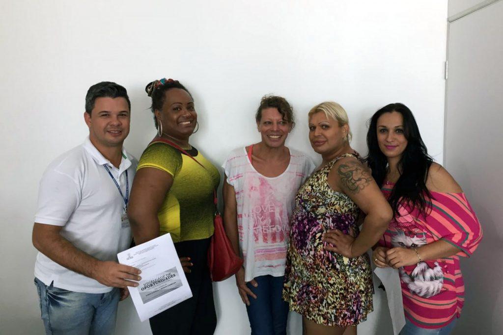 Coordenadoria de Diversidade Sexual debate com transexuais  (Foto: Divulgação/PMPA)