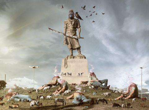 Monumento ao Laçador (Foto: Reprodução)