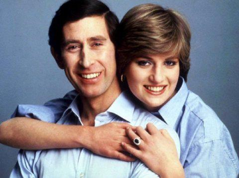 Príncipe Charles e princesa Diana em retrato para o casamento, em 1981. (Foto: REUTERS/Handout/Files)