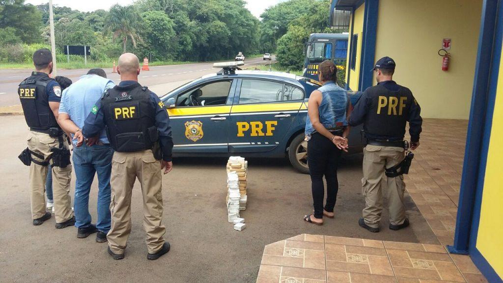 Desta vez, apreensão ocorreu em Sarandi (Foto: PRF/Divulgação)