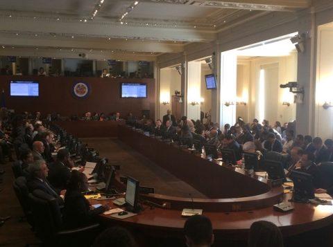 """OEA diz que seguirá examinando opções """"para apoiar o funcionamento da democracia"""" naquele país. (Foto: Reprodução)"""