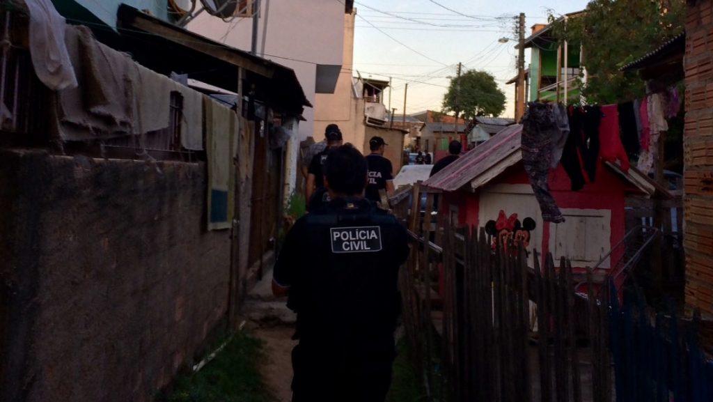 Mais de 600 policiais participaram da ação (Foto: Polícia Civil/Divulgação)