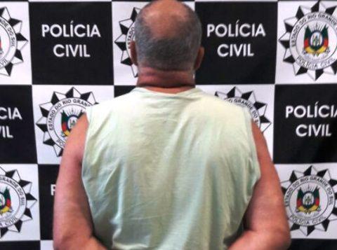 Criminoso tem 58 anos (Foto: Polícia Civil/Divulgação)