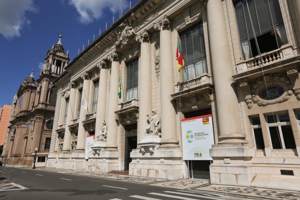 Encontro ocorre no Palácio Piratini (Foto: Leandro Osório/Especial Palácio Piratini)