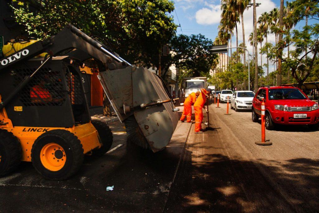 Prefeitura removerá camada asfáltica existente e fará o recapeamento (Foto: Cesar Lopes/PMPA)