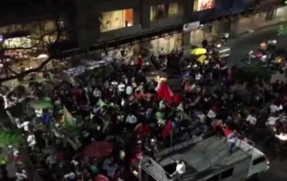 Protesto contra reformas do governo federal foi realizado em Porto Alegre. (Foto: Reprodução)