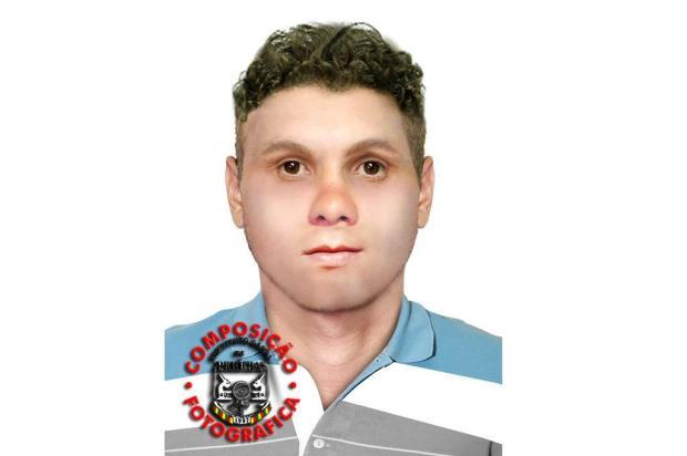 Suspeito foi descrito por testemunha. (Foto: Polícia Civil/ Divulgação)