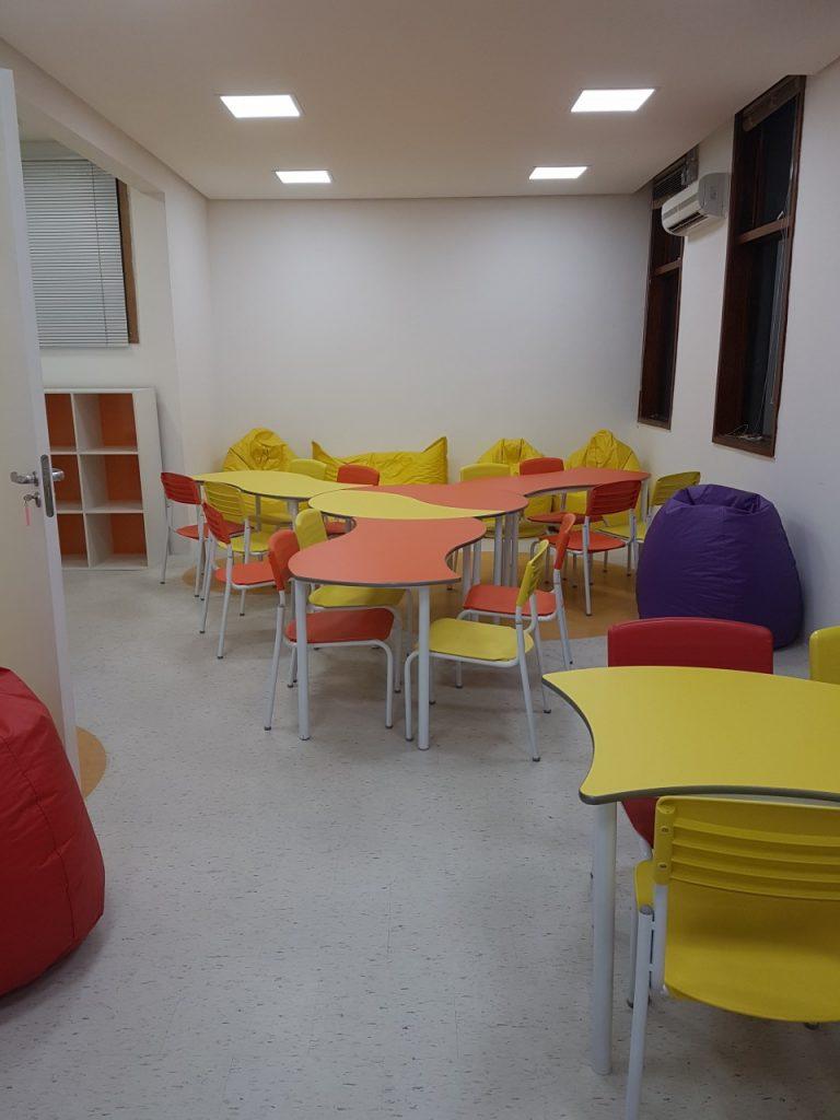 Sala de aula da instituição de ensino (Foto: Divulgação)