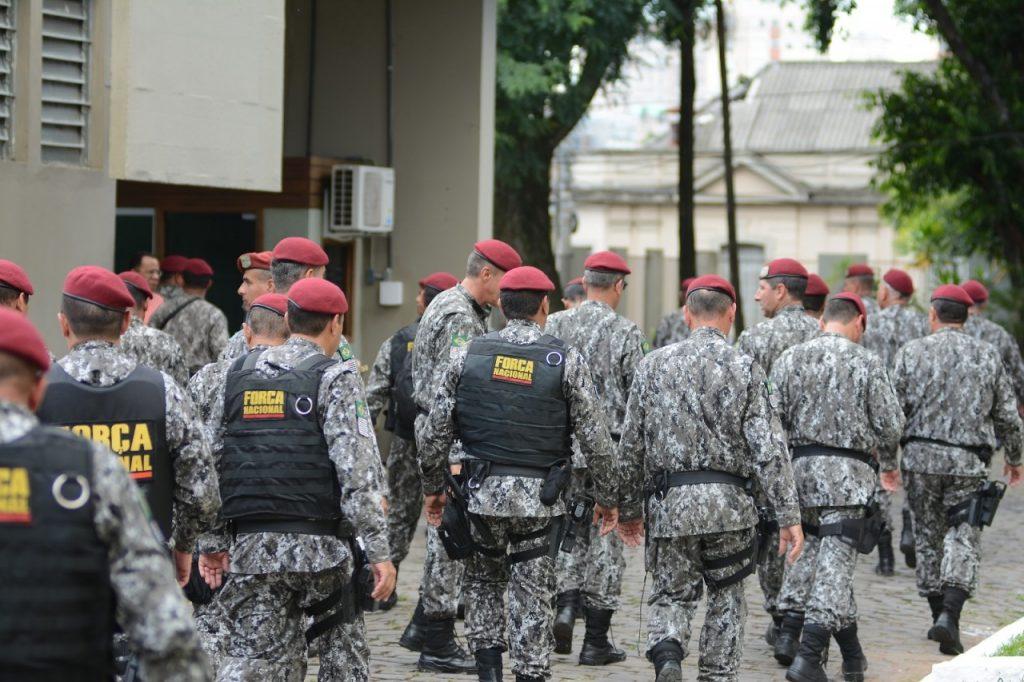 Reforço se soma aos 70 policiais que estão na Capital desde agosto de 2016 (Foto: Rodrigo Ziebell/SSP)
