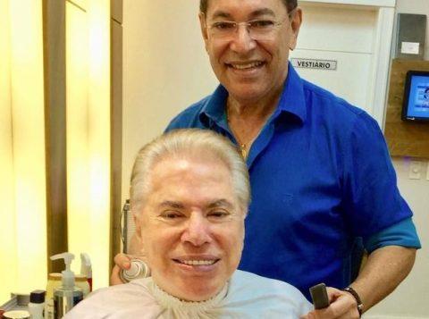 Silvio Santos e Jassa. (Foto: Reprodução/Instagram)