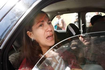 Sônia de Fatima Moura, mãe de Eliza Samudio, em 2010. (Foto: Reprodução)