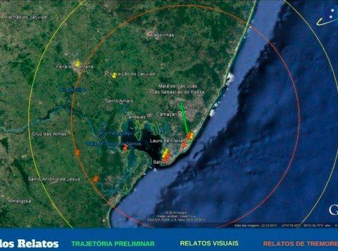 EXOSS publicou infográfico que mostra raio de visualização de testemunhas. (Foto: Reprodução)