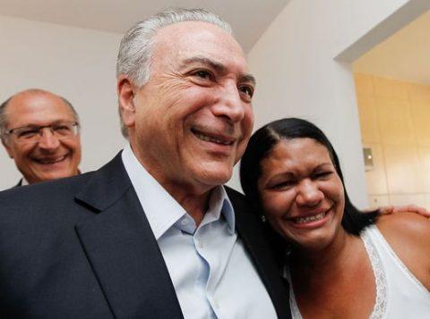 Fala de Temer aconteceu em cerimônia de entrega de unidades habitacionais do Minha Casa Minha Vida (Foto: Beto Barata/PR/Divulgação/Agência Brasil)