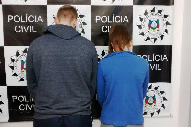 Jovens presos têm 20 anos (Foto: Polícia Civil/Divulgação)