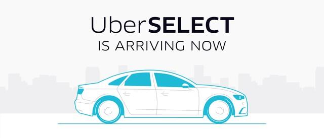 UberSELECT chega ao Brasil e é uma das sete modalidades de serviço da Uber. (Foto: Uber/Divulgação)