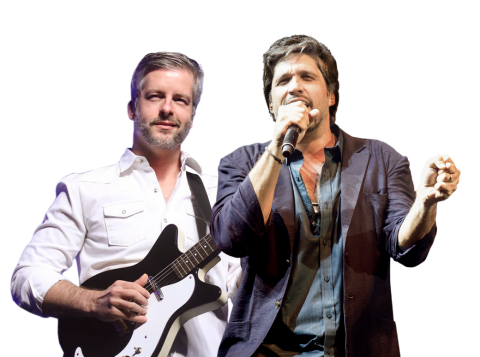 Dupla se apresenta no Teatro da Feevale e no Teatro do Sesi no próximo mês (Foto: Priscila Tessarini/Divulgação)