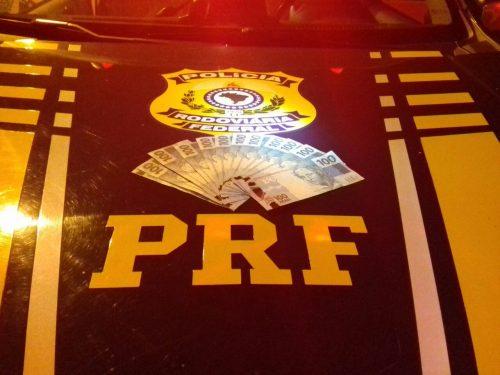 Apreensão durante fiscalização a PRF (Foto: Divulgação/PRF)
