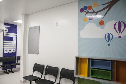 Espaço foi projetado para atender mulheres e crianças de até dois anos de idade da atenção primária à saúde do município de Estrela (Foto: Nicole Morás)