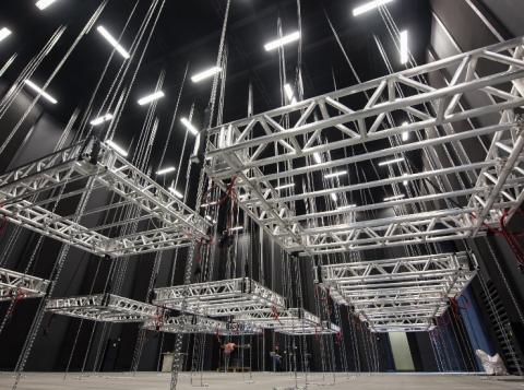 PUCRS inaugura o mais moderno estúdio de cinema do País (Foto: Bruno Todeschini Ascom/PUCRS)