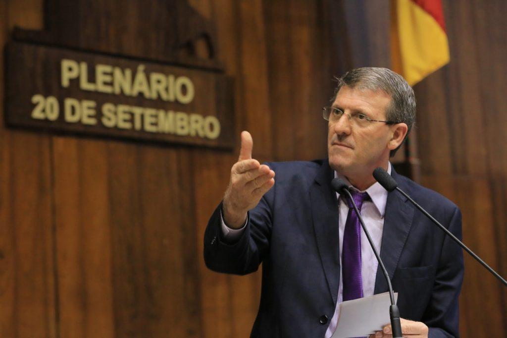 Deputado Gilmar Sossella (Foto: Wilson Cardoso)