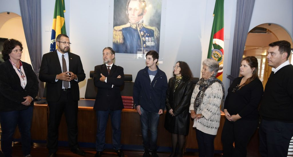 Memorial do Legislativo recebeu acervo (Foto: Vinícius Reis)