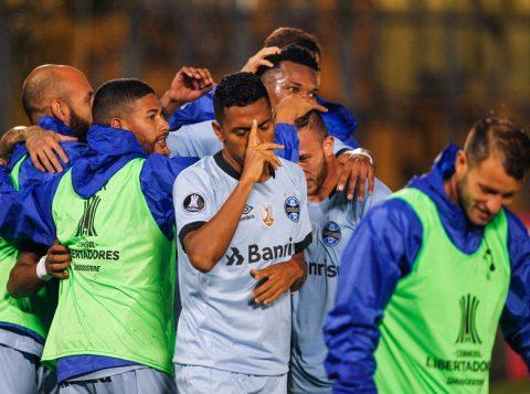 Último jogo com os paraguaios, na semana passada, terminou com empate em 1 a 1. (Foto: Lucas Uebel/Grêmio)