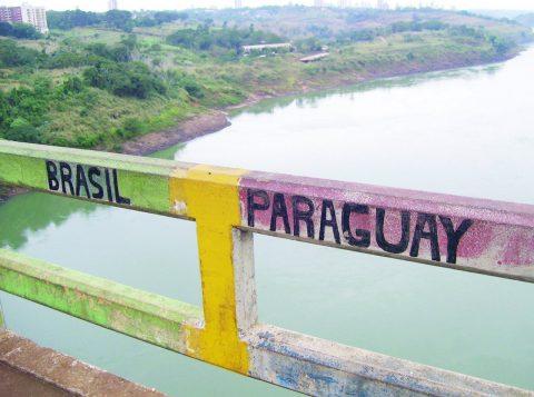 Crime ocorreu na segunda-feira, em Ciudad del Este, no Paraguai. (Foto: Reprodução)