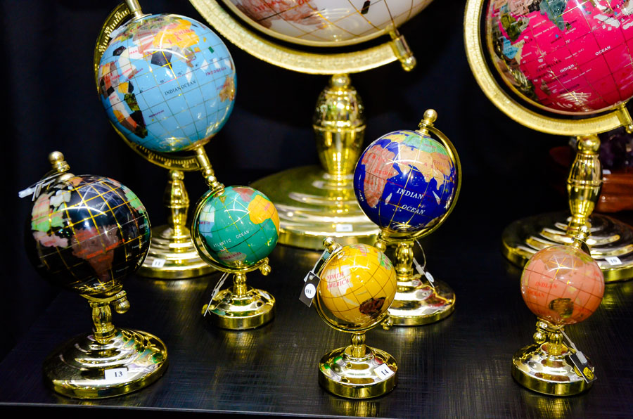 Produtos feitos com pedras preciosas  (Foto: Divulgação)