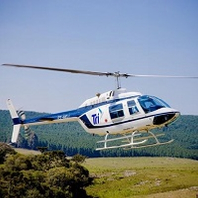 Helicóptero PT-HOJ (Foto: Tri Taxi Aéreo)