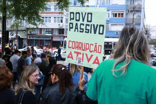 Mobilização aconteceu nesta quarta-feira e tem novas ações planejadas (Foto: Divulgação)
