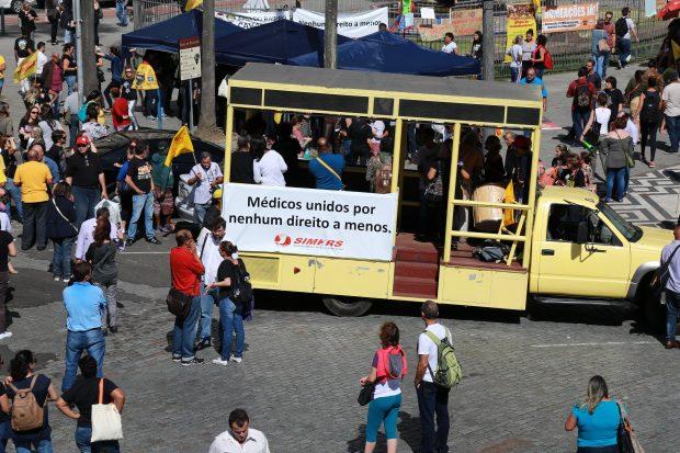 Simers informou que greve geral terá a participação dos médicos municipários (Foto: Divulgação/Simers)