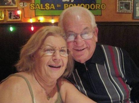Isaac e Teresa Vatkin morreram de mãos dadas num hospital nos EUA. (Foto: Arquivo pessoal)