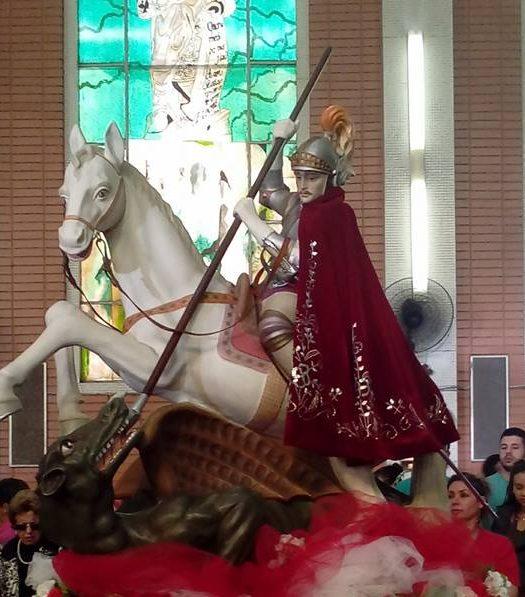 Festa São Jorge é comemorada neste domingo em Porto Alegre (Foto: Reprodução)