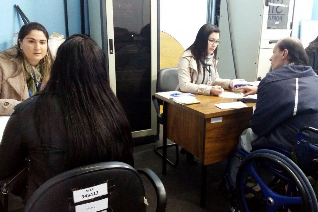 Sessenta e uma ofertas de emprego são para Pessoas com Deficiência (Foto: Ana Luiza Godoy/PMPA)