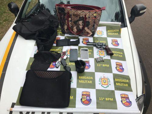 Material foi apreendido com o suspeito (Foto: Divulgação/Defrec)