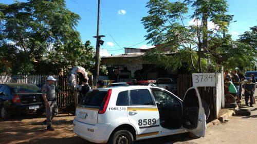 Suspeita é de que o crime tenha sido uma disputa por espaço na região (Foto: Divulgação/Brigada Militar)