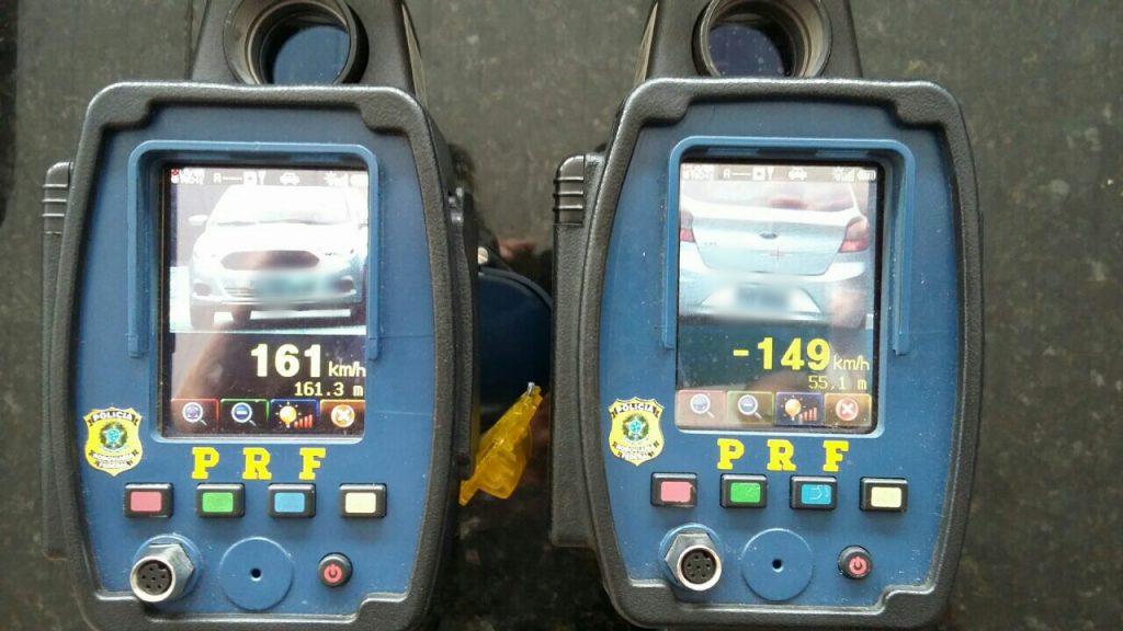 2.985 multas por excesso de velocidade (Foto: Divulgação/PRF)