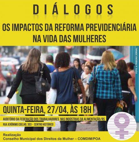 Discussão é promoção do Conselho Municipal dos Direitos da Mulher (Foto: Divulgação)