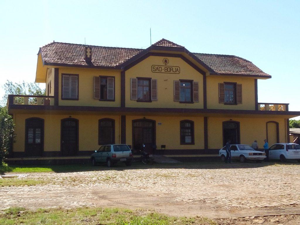Arquivo Municipal de São Borja está localizado na antiga Estação Férrea (Foto: Divulgação/Prefeitura Municipal de São Borja)