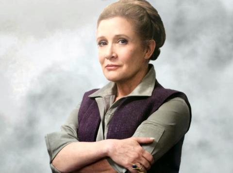 Atriz já tinha deixado gravada sua participação no próximo episódio da saga Star Wars (Foto: Reprodução)