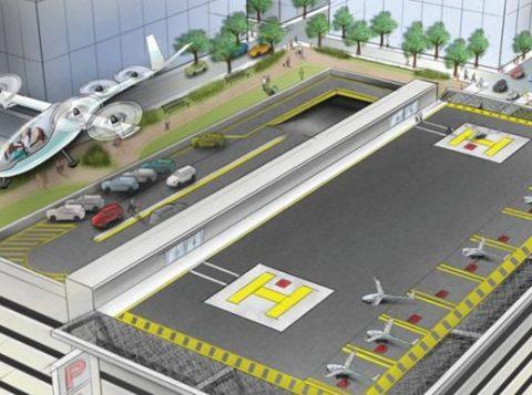 A Embraer e a Uber planejam iniciar os testes com o táxi voador a partir de 2020. (Foto: Reprodução)
