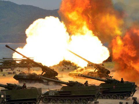 Testes ocorreram no aniversário do Exército norte-coreano (Foto: Reprodução)
