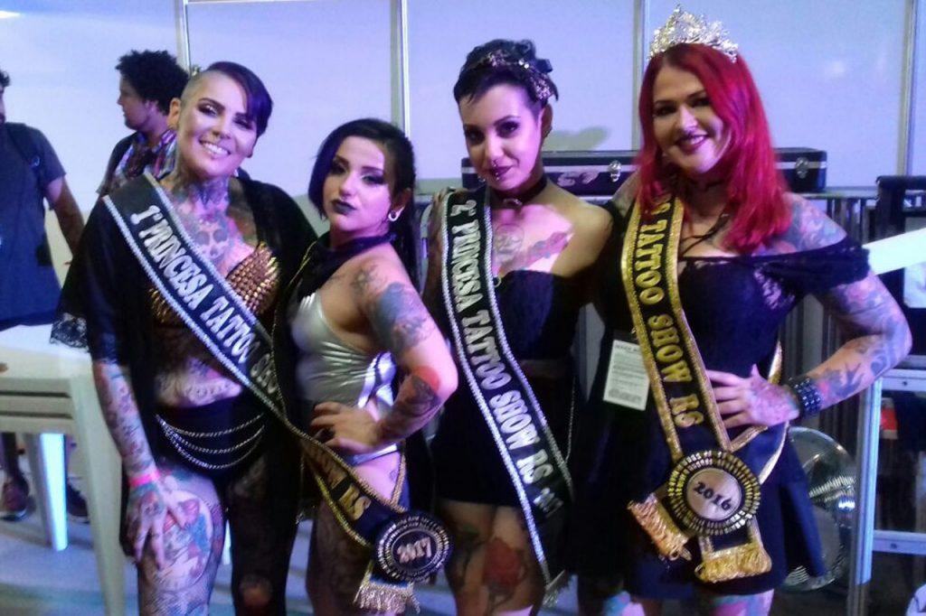Corte Miss Tattoo RS 2017 (Foto: Divulgação)