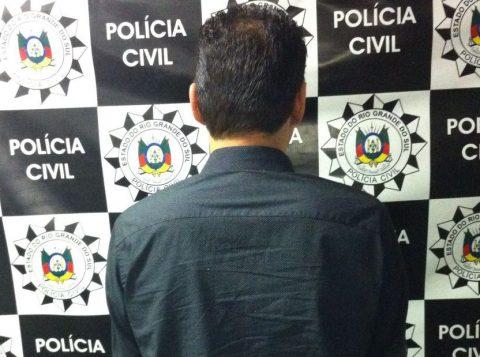 Homem já tinha antecedentes criminais (Foto: Polícia Civil)