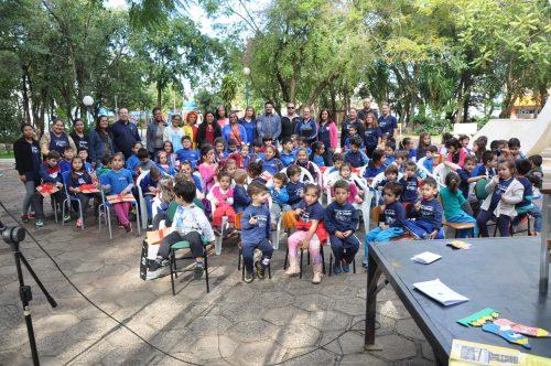 Dia do Livro é comemorado em São Borja (Foto: Divulgação/PMSB)