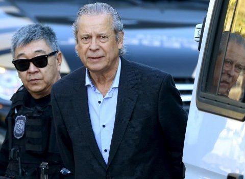 O ex-ministro José Dirceu, preso pela Lava-Jato (Foto: Rodolfo Buhrer/Reuters)